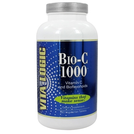 DROPPED: Vita Logic - Bio-C 1000 With Quercetin & Bioflavonoids 1000 mg. - 180 Tablets