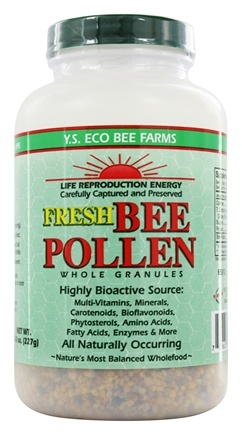 Zoom View - Fresh Bee Pollen Whole Granules