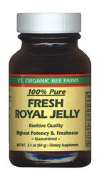 DROPPED: YS Organic Bee Farms - Fresh Royal Jelly 60000 mg. - 2.1 oz. CLEARANCE PRICED