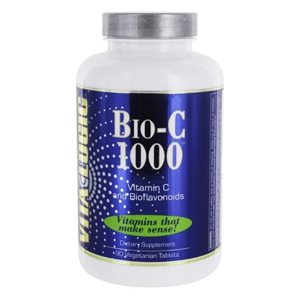 DROPPED: Vita Logic - Bio-C 1000 With Quercetin & Bioflavonoids 1000 mg. - 90 Tablets