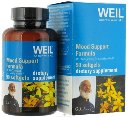 DROPPED: Weil Nutritional Supplements - Mood Support Formula - 90 Softgels