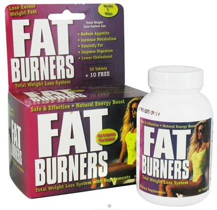 DROPPED: Universal Nutrition - Fat Burners - 60 Tablets