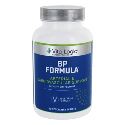 DROPPED: Vita Logic - Blood Pressure Formula Cardiovascular & Circulatory Support - 90 Tablets