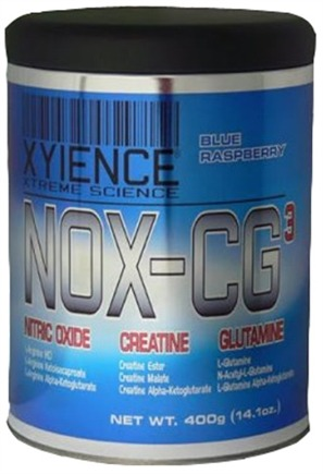 DROPPED: Xyience - NOX-CG3 Blue Raspberry - 400 Grams