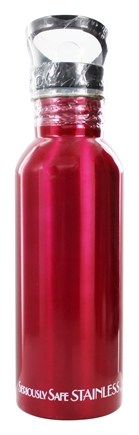 New Wave Enviro Products - Stainless Steel Water Bottle Berry Red - 20 oz.