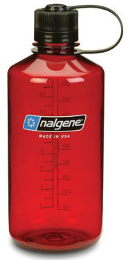 DROPPED: Nalgene - Narrowmouth Water Bottle (Ruby Red) - 32 oz.