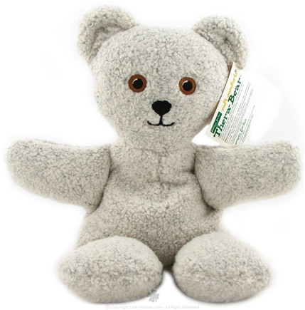 Zoom View - Thera Bear Oatmeal Plush