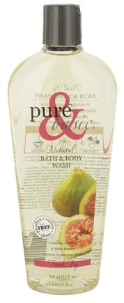 DROPPED: Pure & Basic - Bath and Body Wash Fresh Fig - 12 oz.