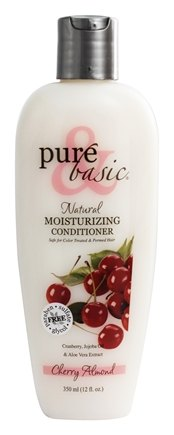 Pure & Basic - Natural Conditioner Moisturizing Cherry Almond - 12 oz.