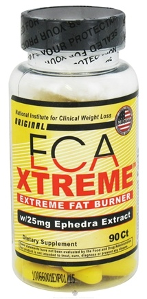 DROPPED: Hi-Tech Pharmaceuticals - ECA Xtreme with 25mg Ephedra Extract - 90 Tablets UNPUBLISHED