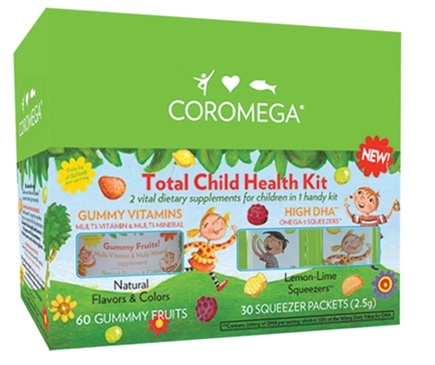 DROPPED: Coromega - Total Child Health Kit