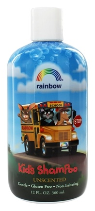 DROPPED: Rainbow Research - Kid's Shampoo Unscented - 12 oz.