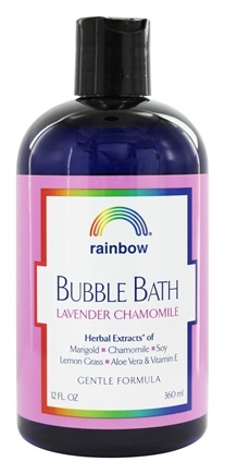 Rainbow Research - Bubble Bath Lavender & Chamomile - 12 oz.