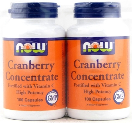DROPPED: NOW Foods - Cranberry Concentrate - 100 Capsules