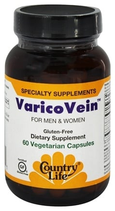 Country Life - VaricoVein Vein Support - 60 Vegetarian Capsules