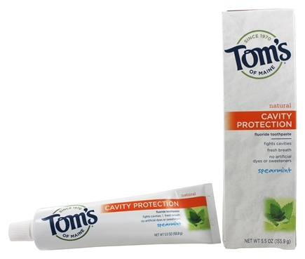 Tom's of Maine - Natural Toothpaste Cavity Protection With Fluoride Spearmint - 5.5 oz.
