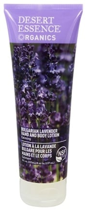 Desert Essence - Hand and Body Lotion Bulgarian Lavender - 8 oz. LUCKY PRICE