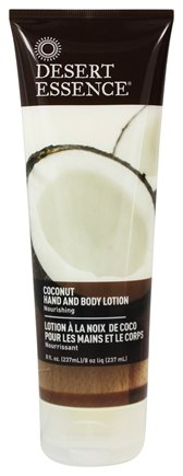 Desert Essence - Hand and Body Lotion Coconut - 8 oz. LUCKY PRICE