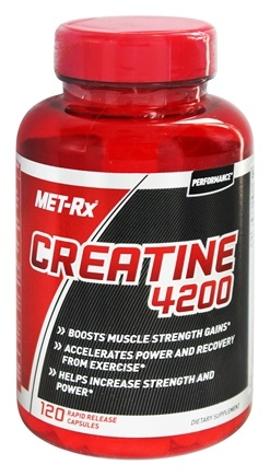 DROPPED: MET-Rx - Creatine 4200 - 120 Capsules