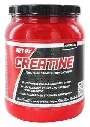 DROPPED: MET-Rx - Creatine Powder Pharmaceutical Grade - 2.2 lbs.
