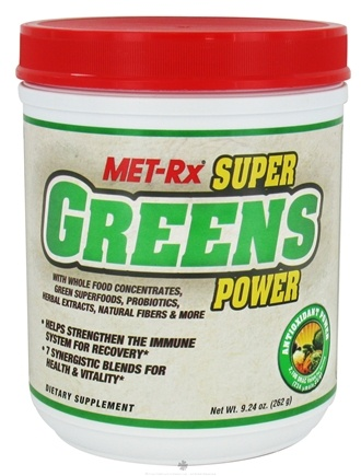 DROPPED: MET-Rx - Super Greens Power - 9.24 oz.