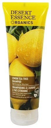 Desert Essence - Shampoo Lemon Tea Tree - 8 oz. LUCKY PRICE