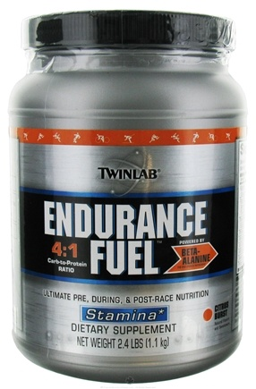 DROPPED: Twinlab - Endurance Fuel Stamina Powder Cirtus Blast - 2.4 lbs. CLEARANCE PRICED