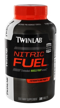 DROPPED: Twinlab - Nitric Fuel Extended Muscle Pump Formula - 180 Tablets CLEARANCE PRICED