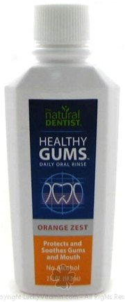 DROPPED: Natural Dentist - Healthy Gums Daily Oral Rinse Orange Zest - 2 oz.