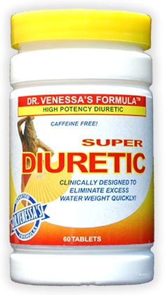 DROPPED: Dr. Venessa's Formulas - Super Diuretic - 60 Tablets