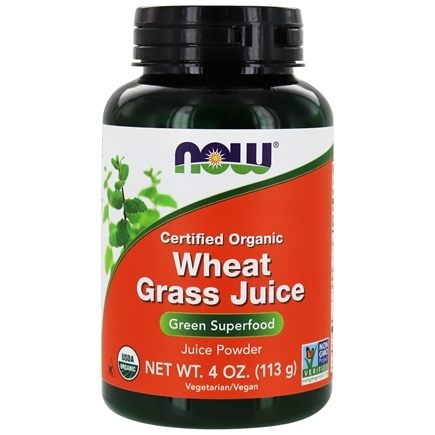 Zoom View - Wheat Grass Juice Green Superfood  Powder Certified Organic