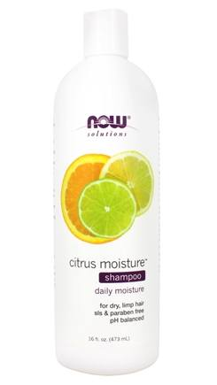 DROPPED: NOW Foods - Shampoo Citrus Moisture - 16 oz. CLEARANCE PRICED