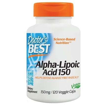 Doctor's Best - Best Alpha Lipoic Acid 150 mg. - 120 Capsules