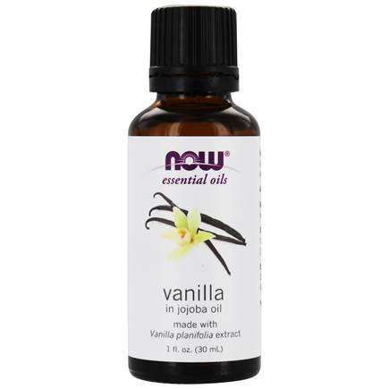NOW Foods - Vanilla in Jojoba Oil 100% Natural Vanilla - 1 oz.