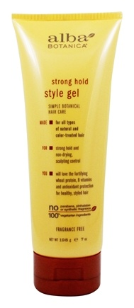 Alba Botanica - Styling Gel Strong Hold - 7 oz.