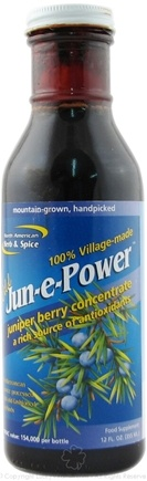 DROPPED: North American Herb & Spice - Jun-e-Power Juniper Berry Concentrate - 12 oz.