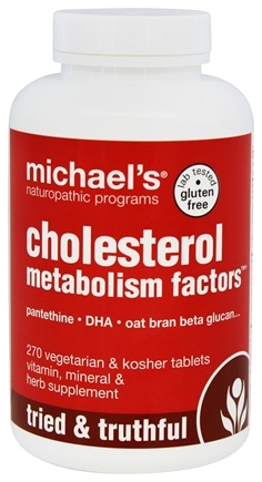 DROPPED: Michael's Naturopathic Programs - Cholesterol Metabolism Factors - 270 Vegetarian Tablets