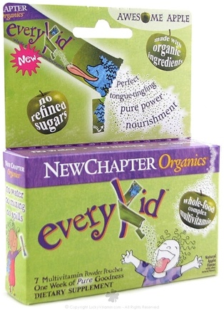 DROPPED: New Chapter - Every Kid Multi-Vitamin Awesome Apple - 7 Packet(s)