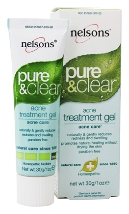 Buy Nelsons Pure Clear Acne Treatment Gel 1 Oz At