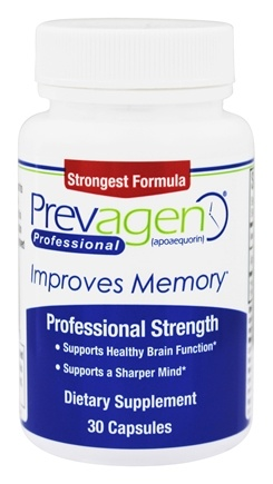 DROPPED: Quincy Bioscience - Prevagen Professional 40 mg. - 30 Capsules