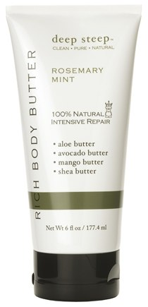 Zoom View - Body Butter Rosemary Mint