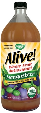 DROPPED: Nature's Way - Alive! Organic Mangosteen Juice - 32 oz.