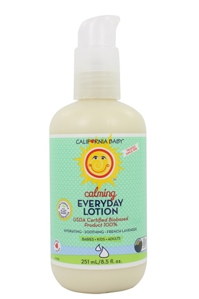 California Baby - Everyday Lotion Calming French Lavender - 6.5 oz.