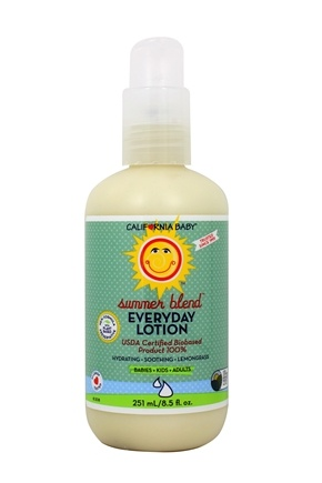 California Baby - Everyday Lotion Summer Blend - 6.5 oz.