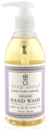 DROPPED: Deep Steep - Organic Hand Wash Lavender Chamomile - 9 oz.