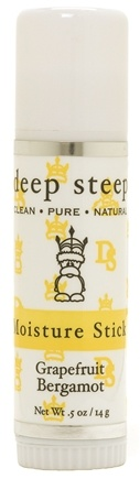 DROPPED: Deep Steep - Moisture Stick Grapefruit Bergamot - 0.5 oz.