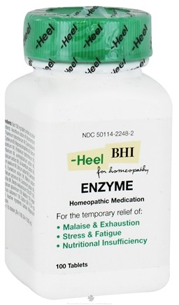 DROPPED: BHI/Heel - Enzyme - 100 Tablets CLEARANCE PRICED