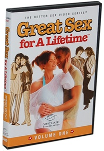 DROPPED: Sinclair Institute - Great Sex for a Lifetime DVD Vol. 1 - 1 DVD(s) CLEARANCE PRICED