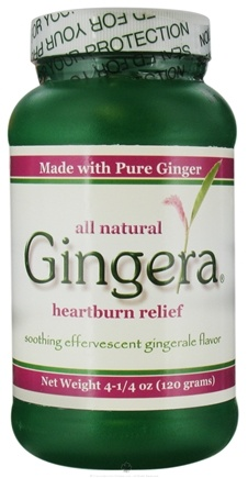 DROPPED: Gingera - Heartburn Relief Soothing Effervescent Gingerale Flavor - 4.25 oz.