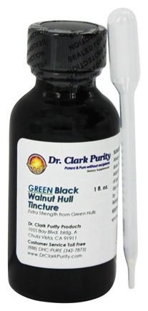 Dr. Clark Purity Products - Black Walnut Hull Tincture - 1 oz.